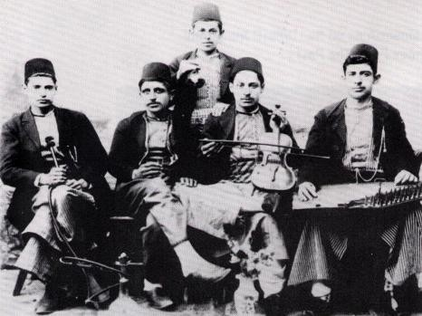 American musicians who performed integral to the Ottoman-American diaspora by the composer and producer Hovsep Shamlian.