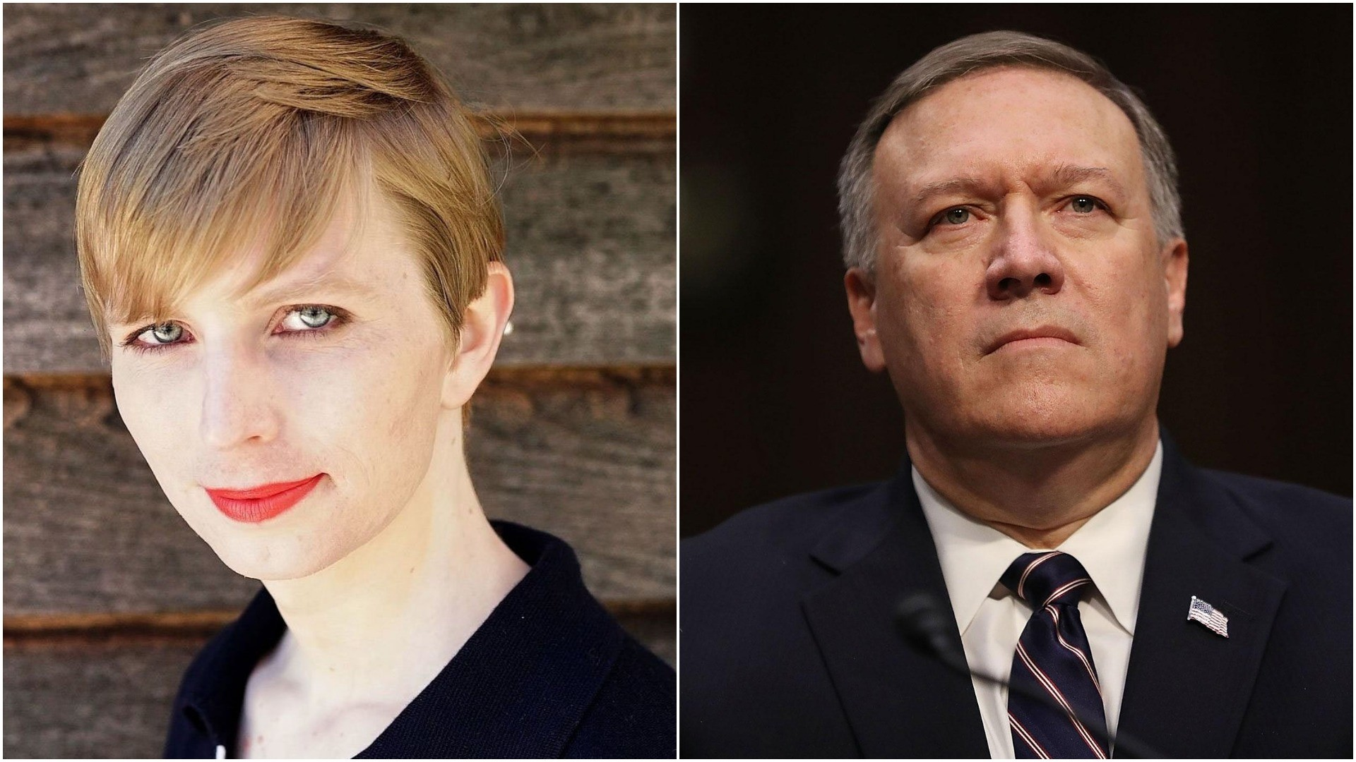 Harvard rescinds Chelsea Manning's (R) visiting fellowship after CIA director Pompeo (R) cancels speech over u2018traitoru2019. (AFP Photos)
