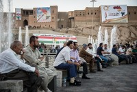 Hundreds of Iraqis demonstrated in eastern Iraq on Sunday against a planned referendum on the secession of northern Iraq's Kurdish region.  Protestors, who gathered outside the Baquba city...