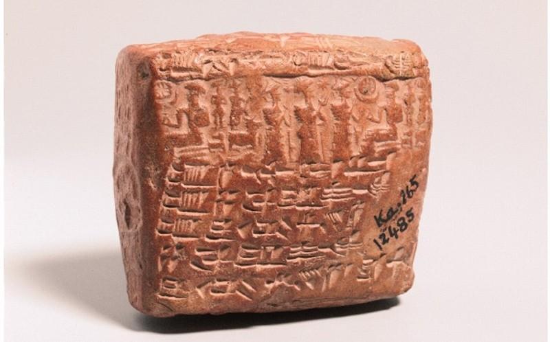 Cuneiform tablet containing details about infertility