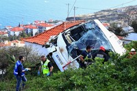 28 killed after bus oveturns in Portugal's Madeira, reports say