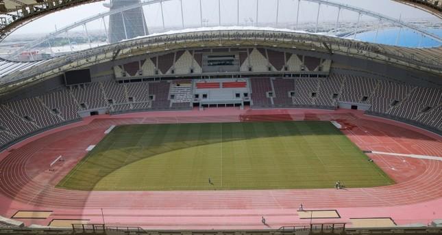 ملعب خليفة الدولي في الدوحة