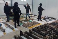 ضبط أكبر مخبأ للذخيرة لتنظيم بي كا كا الإرهابي في جنوب شرق تركيا