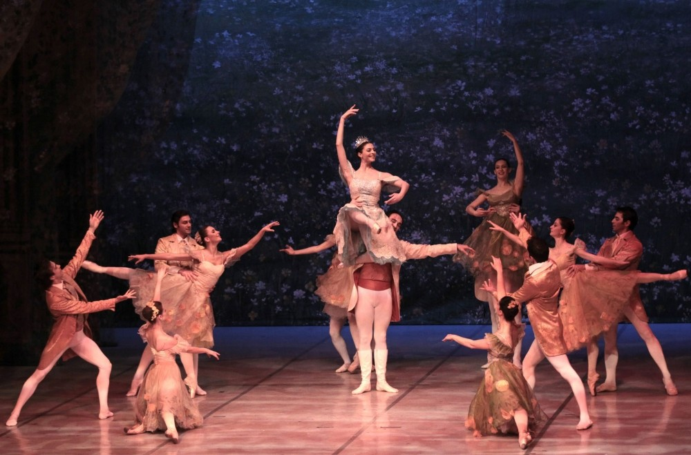 The ,Nutcracker, ballet performed by the Samsun State Opera and Ballet.