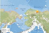 6.4-magnitude earthquake strikes northern Alaska