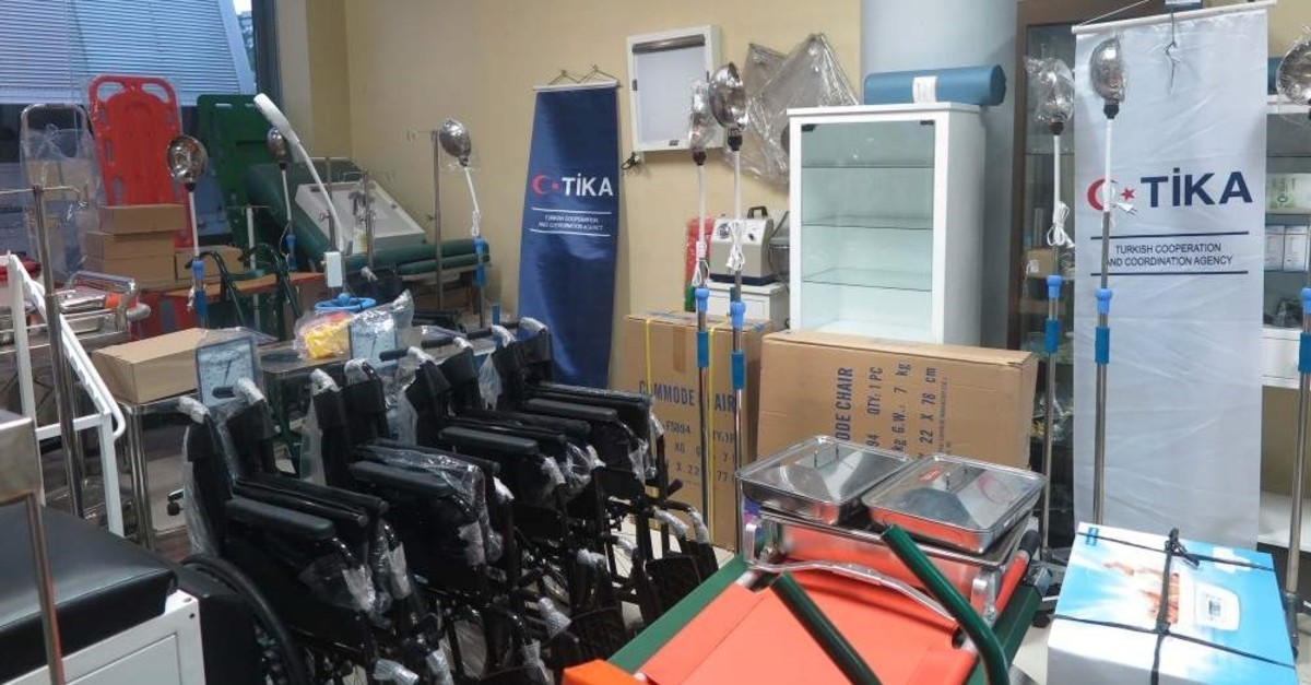 Turkish state-run agency T?KA provides educational and medical equipment for the Moro Muslim community on Philippines' Mindanao Island. (T?KA - AA Photo)