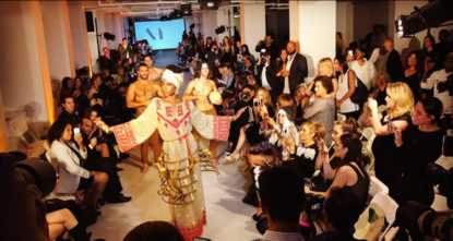 pA group of Palestinian craftswomen has accused an Israeli fashion designer of deceit over a misleading partnership in creating a garment for New York Fashion Week (NYFW). /p