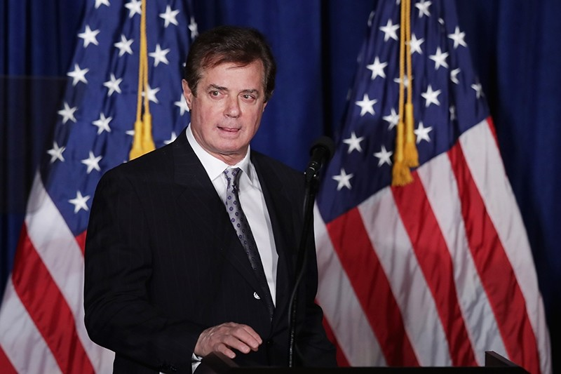 This file photo taken on April 26, 2016 shows Paul Manafort, former advisor to Republican presidential candidate Donald Trump's campaign (AFP Photo)