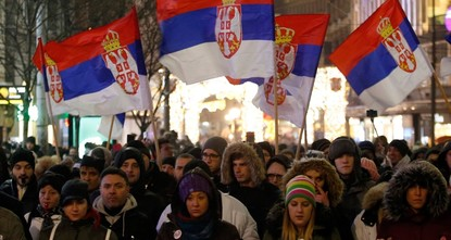 Protests in Belgrade resume against Serbian president