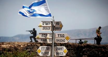 Trump to recognize Golan sovereignty Monday: Israel