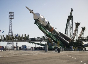 Soyuz rocket blasts off to deliver astronauts to space