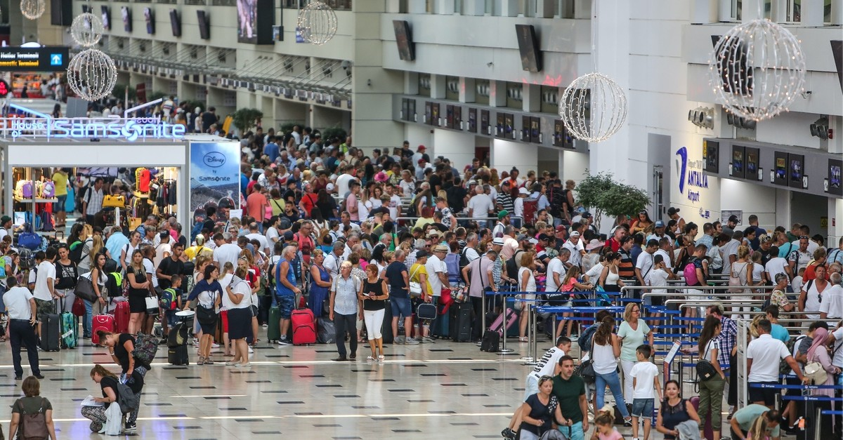 Tourist arrivals in Antalya increased by 17% year-on-year in the January-August period.
