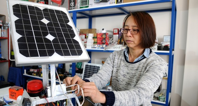 Solar energy, free loan empower Chinese immigrant