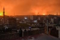 قصف إسرائيلي سابق للعاصمة السورية (من الأرشيف)