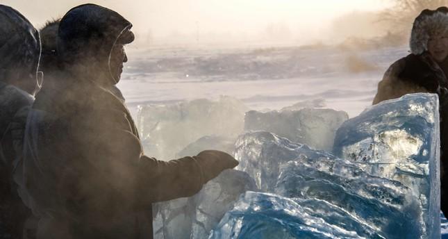 Ice a lifeline for world's coldest region