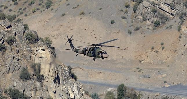 Türkisches Militär: PKK-Terroristen könnten Helikopter abgeschossen haben