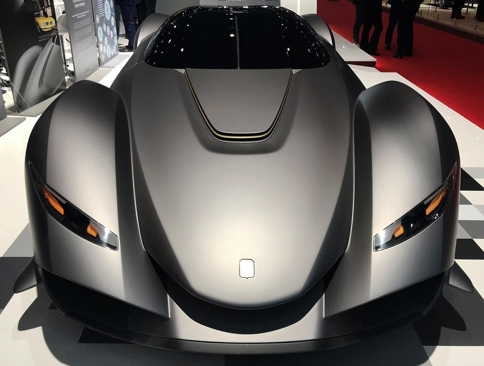 Zagato Isorivolta Vision Gran Turismo. (AP Photo)