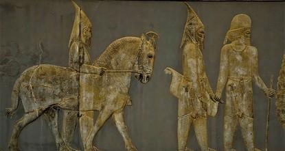 Archäologen finden ältestes Bildnis von Turkvölkern