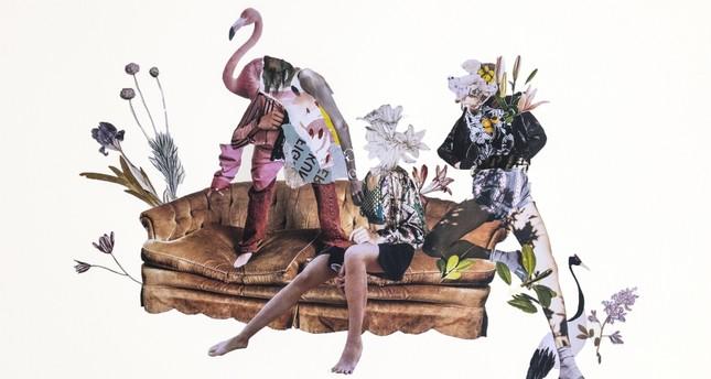 "Ekinsu Koç's work ""Happy at Nowhere"" allows us to follow the susconscious of the artist."