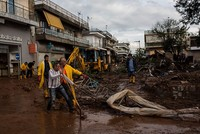 The death toll from days of heavy rains that have wreaked havoc in the Greek capital has risen to 19 after the discovery of three bodies, authorities said Saturday.
