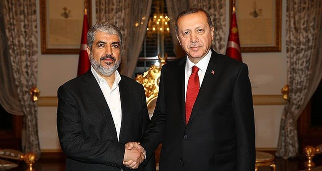 أردوغان ومشعل يبحثان باسطنبول المصالحة الفلسطينية والمساعدات التركية