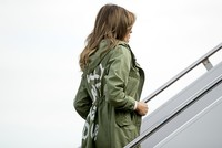 'I really don't care:' Melania Trump dons puzzling jacket for trip to migrant detention center