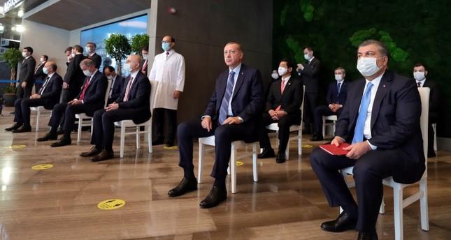 أردوغان: إسطنبول مركز صحي عالمي وباشاك شهير علامة تجارية