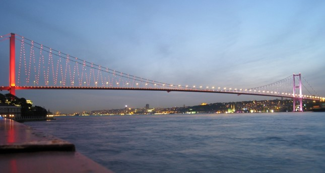 A view of Istanbul's July 15 Martyrs Bridge (formerly known as Bosporus Köprüsü). Istanbul, one of Turkey's largest citites, draws the most foreign investors to the country.