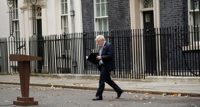 استقالة رئيس الوزراء البريطاني بوريس جونسون