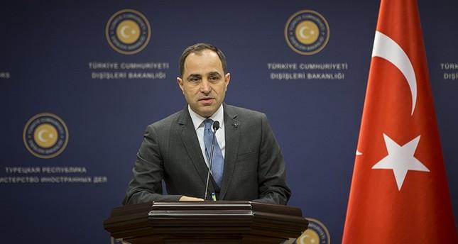 Sprecher des türkischen Außenministeriums Tanju Bilgiç (AA Foto)