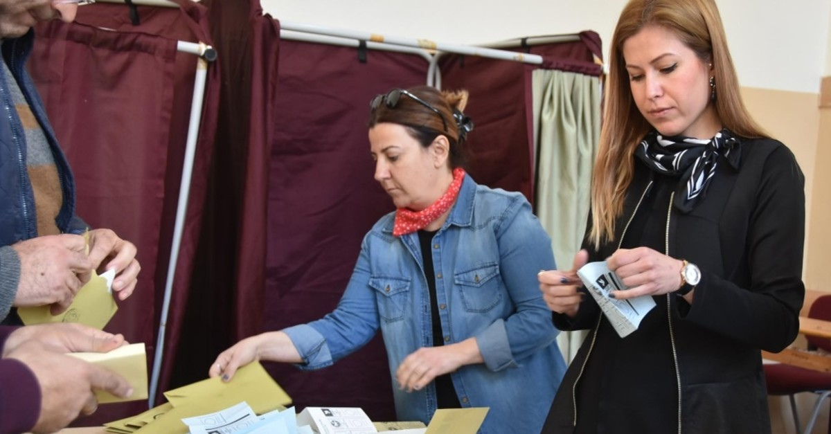 Votes have been recounted in many disticrts of Turkey following speculations about the March 31 local elections, including u0130zmir's Bergama, April 8, 2019.