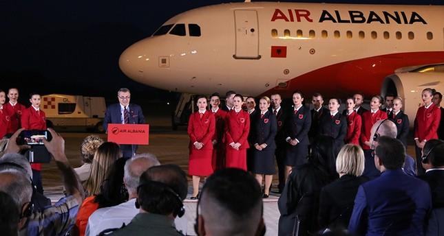 بدعم تركي.. ألبانيا تفتتح شركتها الأولى للخطوط الجوية