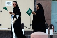 Women don't need to wear abaya robes, Saudi religious figure says