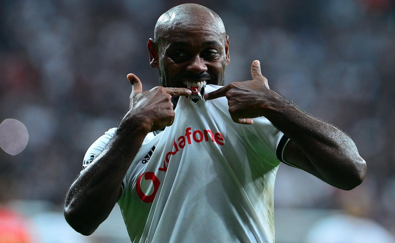 Beu015fiktau015fu2019s Vagner Love returned to the field after six weeks to score against Kayserispor on Saturday.
