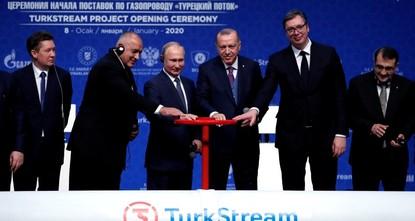 Turkey, Russia inaugurate key TurkStream project