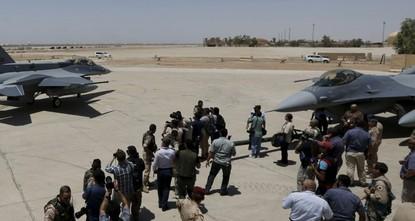 الدفاع العراقية: سقوط صاروخي كاتيوشا على قاعدة جوية في صلاح الدين