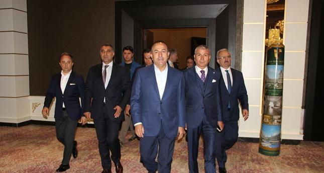 جاوش أوغلو يشارك في اجتماع للدول ذات الرؤى المشتركة حول سوريا
