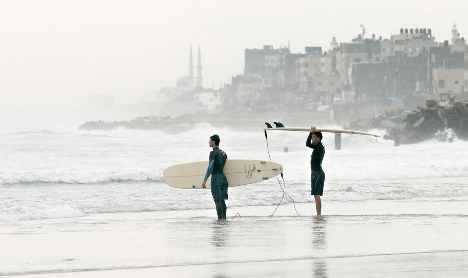 Image from u201cGaza Surf Club,u201d (2016).