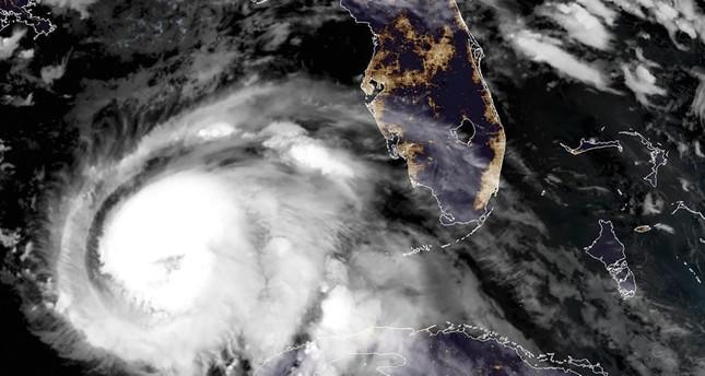 This NOAA/RAMMB satellite image taken on October 9, 2018 at 11:45 UTC shows Hurricane Michael off the US Gulf Coast. (AFP Photo)
