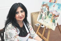 Georgian artist passionate about Turkey