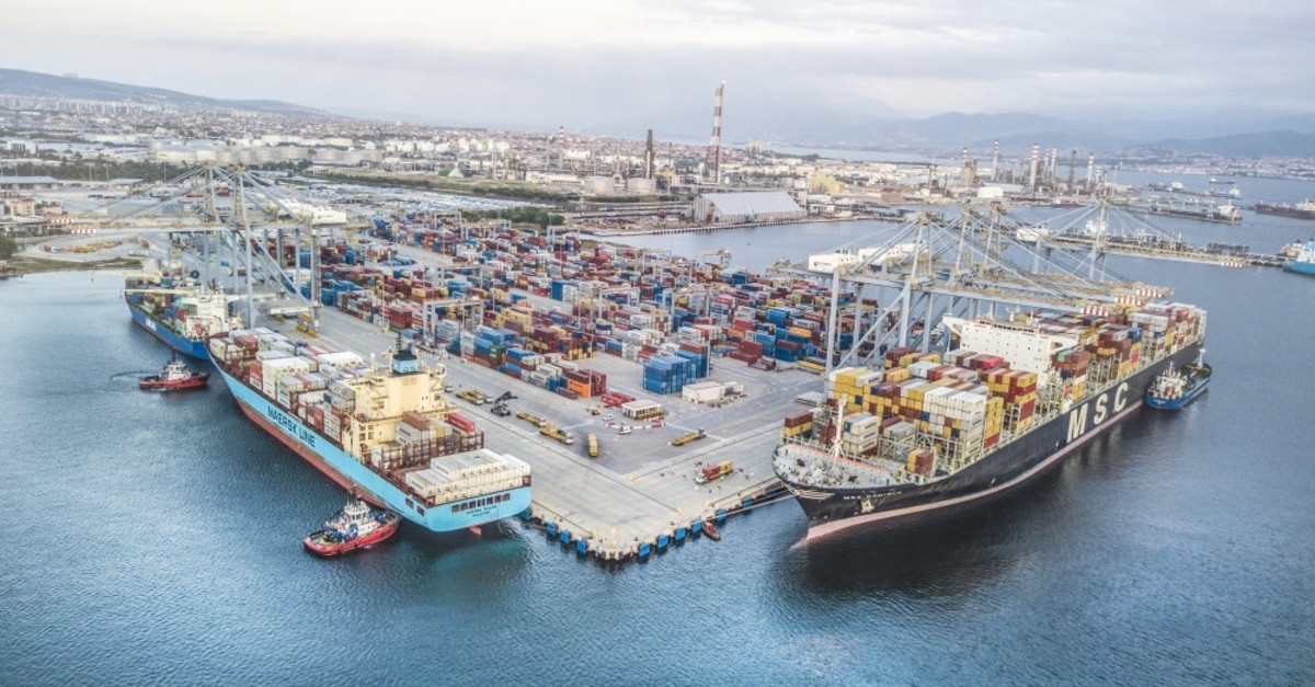 In the January-May period, Turkish exports jumped to $72.6 billion, in which sea, as a mean of trade, had a share of 63 percent.