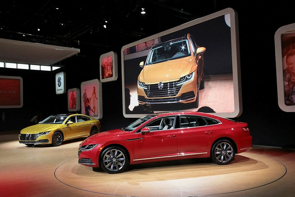Volkswagen introduces the new Arteon at the Chicago Auto Show.