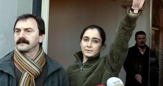 The terrorist leader Musa Aşoğlu (L)