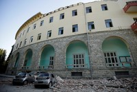 Magnitude 5.8 earthquake shakes Albania's west