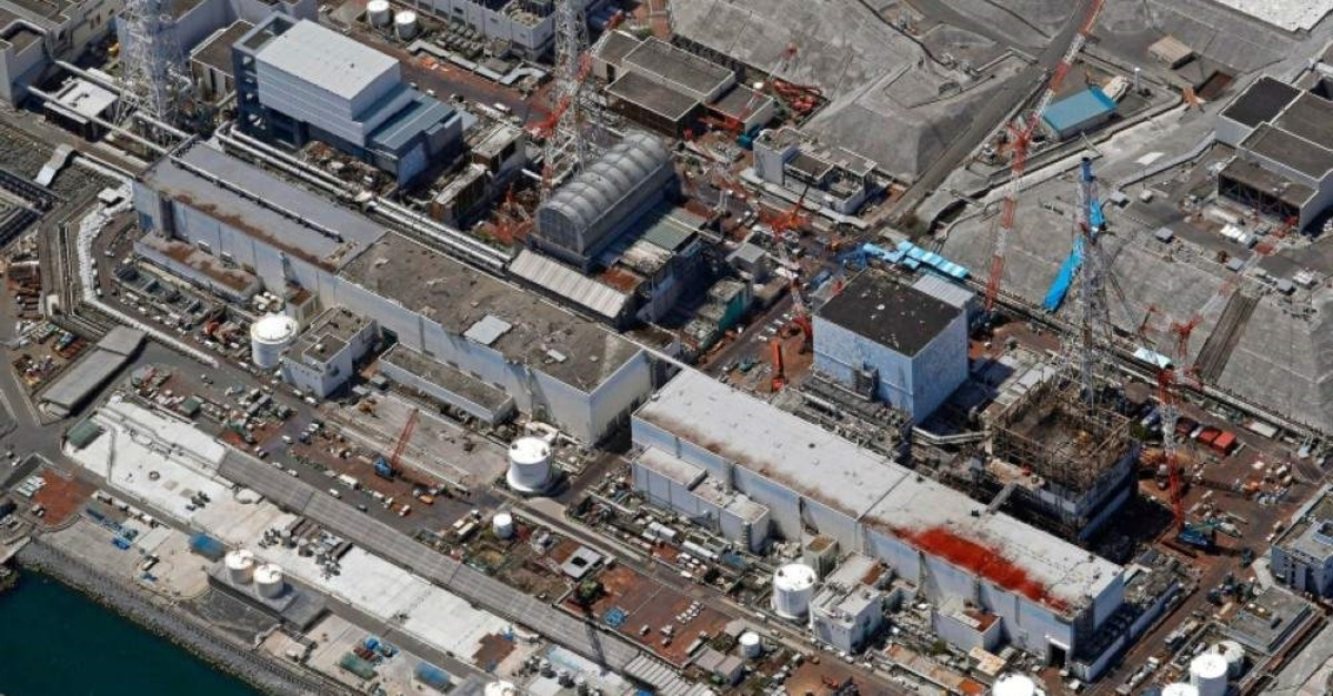 Fukushima Dai-ichi nuclear power plant in northeastern Japan, where decommissioning work is under way. (Kyodo News via AP)