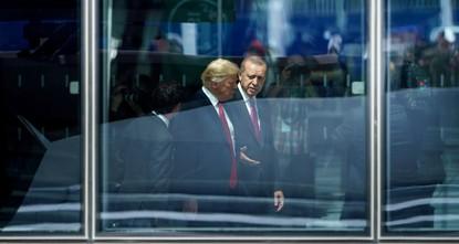 Эрдоган и Трамп проведут встречу 13 ноября