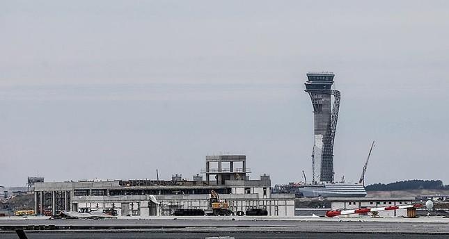 طائرة أردوغان تقلع من غازي عنتاب لتنفيذ أول هبوط بمطار إسطنبول الثالث
