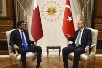 Erdoğan, Qatari sheikh reiterate will to resolve Gulf crisis through diplomacy