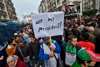 Algerians remain on streets to protest presidential election