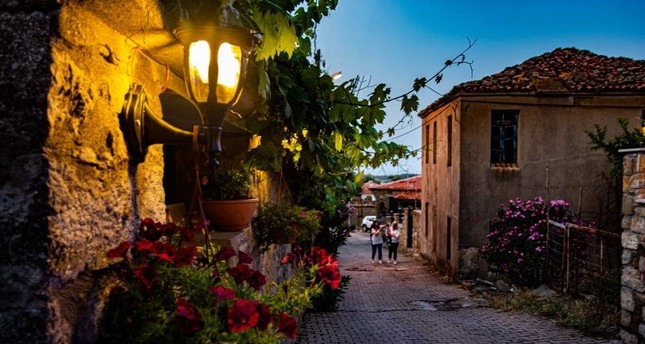Tepeköy in Gökçeada is where you can find the most authentic architectural features of the island. (iStock)